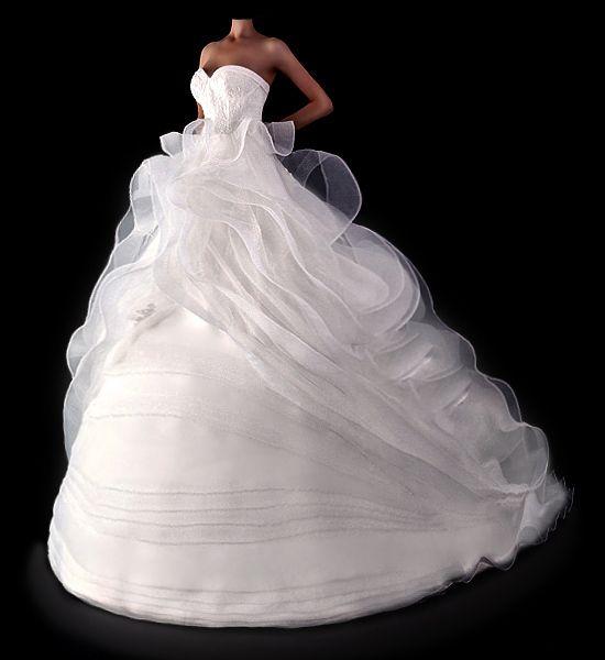 Prinzessinnen Brautkleider Modell D2013008  von Brautkleider Hochzeitskleider Impooria  auf DaWanda.com