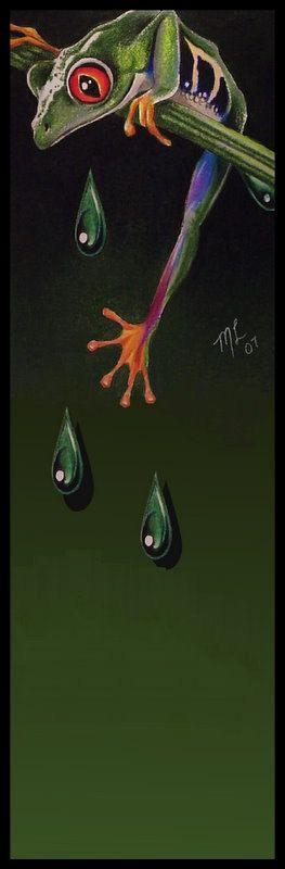 Tree Frog by Melody Lee Lamb