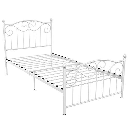 Yaheetech Single Metal Bed Frame 87 99 Free Shipping Twin Size