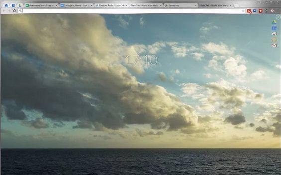 World View Wallpaper, extensión para Chrome que te hace conocer imágenes de distintos lugares del planeta