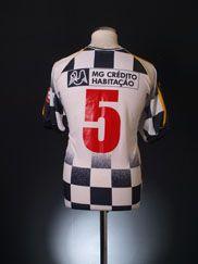2001-02 Boavista Home Shirt #5 XL