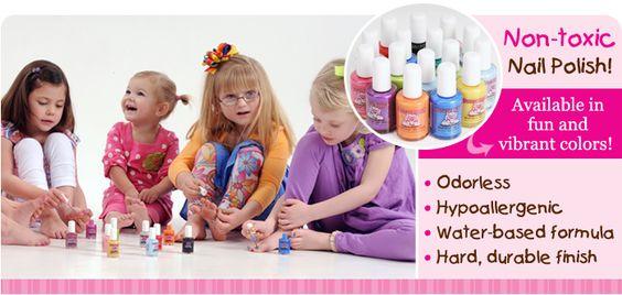 Non-toxic kids nail polish