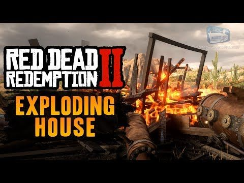 Cool Red Dead Redemption 2 Easter Egg 2 Exploding House Red
