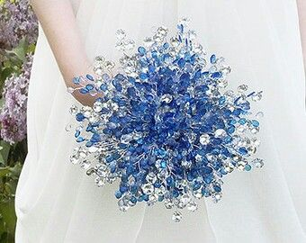 Stunning Blue And Silver Wedding Flowers Gallery - Styles & Ideas ...