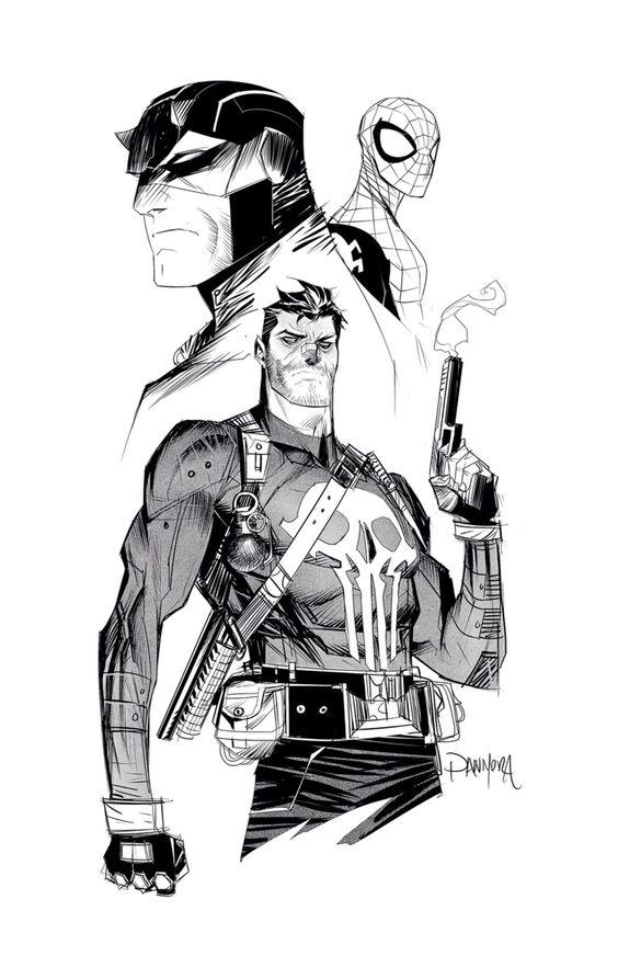 Comic Book Badasses by Dan Mora