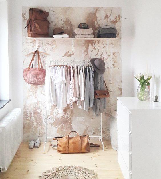 Garderobe Kreativ Ideen :  schlafzimmer einrichten ideen schlafzimmer ideen garderobe wohnzimmer