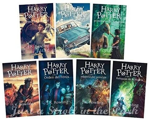 Unbranded Harry Potter Complete Collection Spanish Edition Books 1 2 3 4 5 6 7 Nuevos 0728295410501 Amazon Co Harry Potter Harry Potter Books Harry Pitter