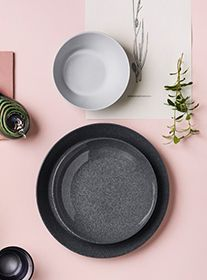 table setting images - pink