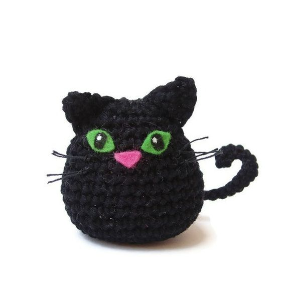 Quick Amigurumi Crochet Patterns : Cat crochet pattern pdf, quick and easy amigurumi cat ...