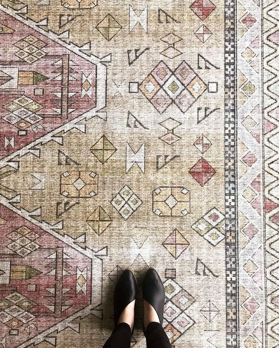 Loloi Rugs On Instagram Spring Is Coming And The Skye Collection Is Here For It Rug Skye In Gold Blush Theloloilook Loloi Rugs Rugs Loloi
