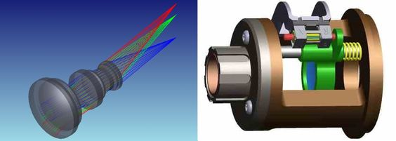 f you need a team specialized in optical system design and prototyping, we can provide services ranging from custom lens design, to opto-mechanical, and electronics design.
