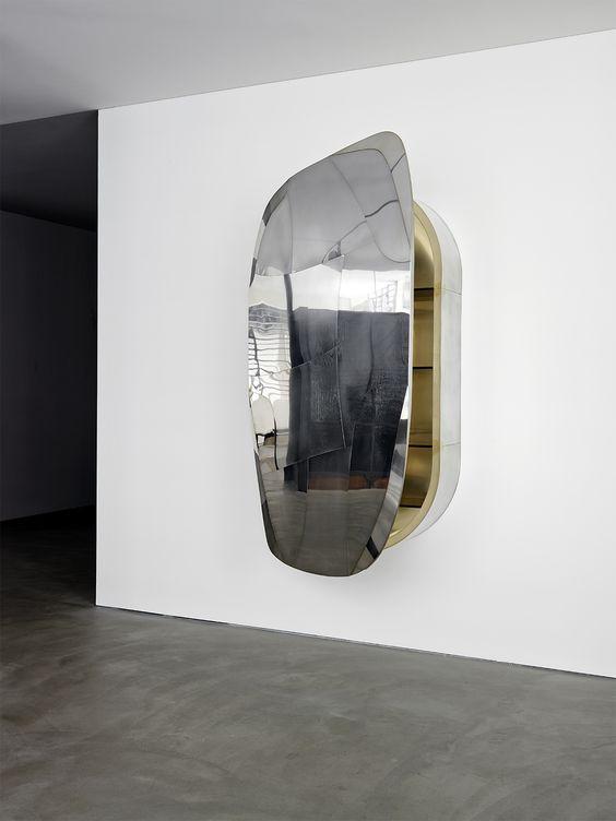 progetto domestico | mirror cabinet | wall sculpture | mirror, Attraktive mobel
