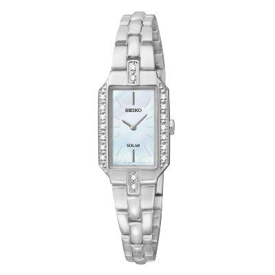 Seiko® Core Solar Stainless Steel Ladies' Watch, available at #HelzbergDiamonds