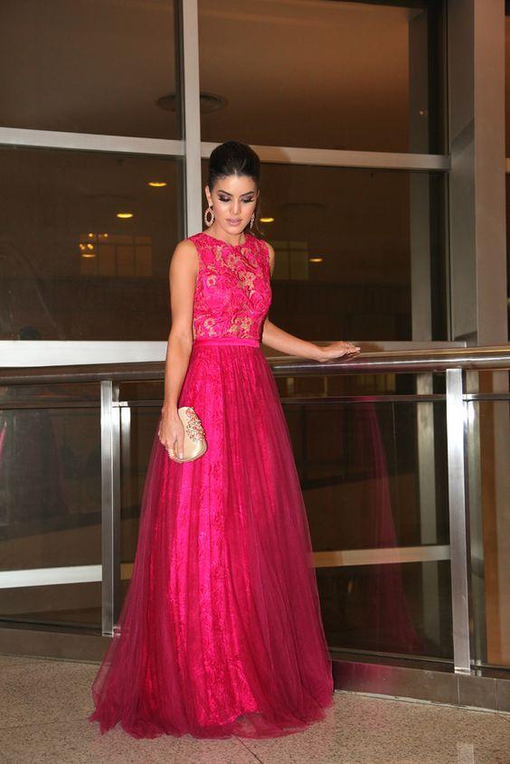 Camila Coelho-Alfreda-Long dress: