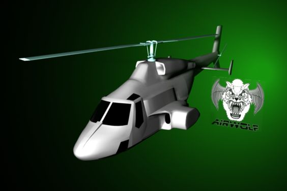 CG Airwolf project