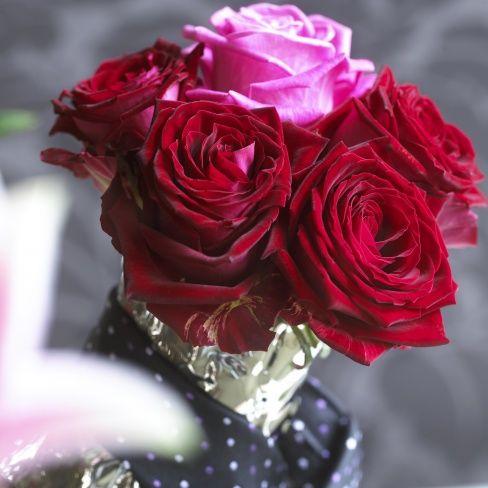 Rosen sind das romantischste Blumengeschenk am Valentinstag