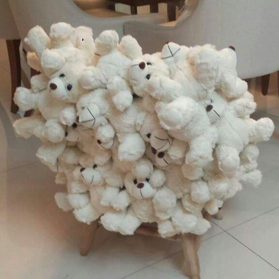 Poltrona infantil ursos