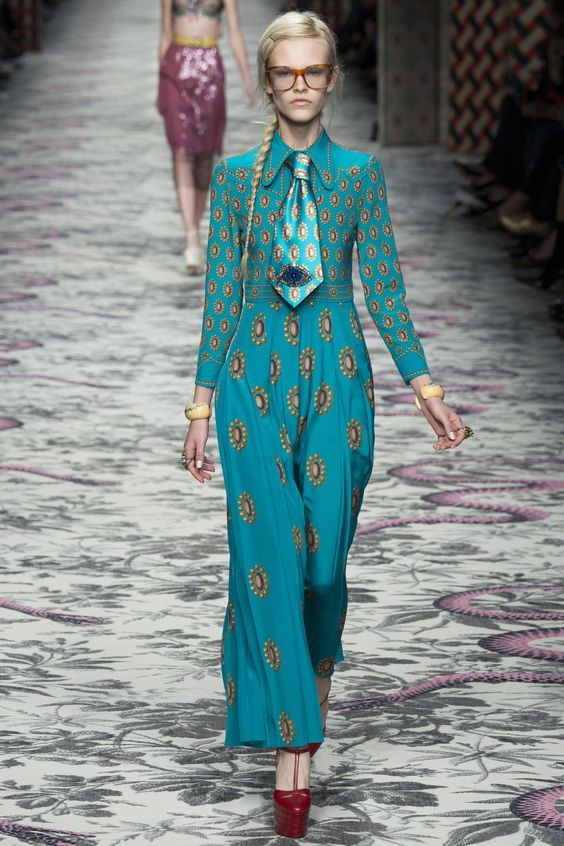 Gucci Spring 2016 Ready-to-Wear Collection Photos - Vogue: