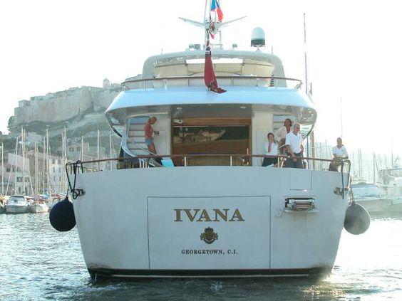 """Résultat de recherche d'images pour """"Le bateau d'Ivana TRUMP"""""""