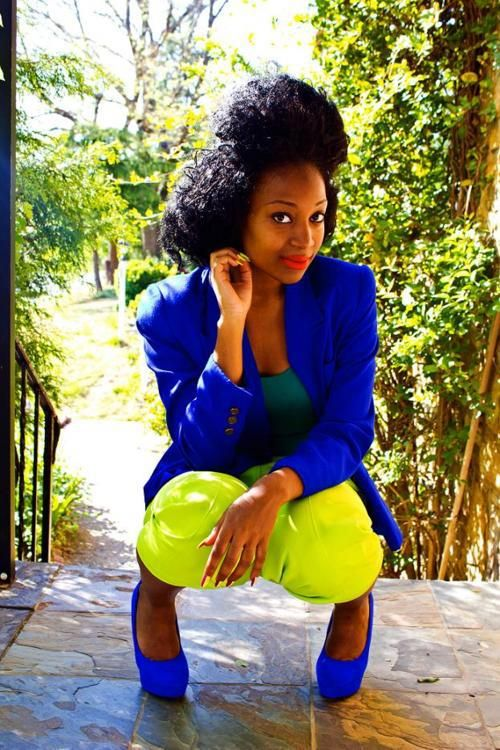 African Sweetheart: Style: Fluorescent