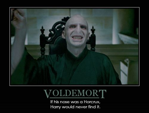 Image result for lord voldemort nose