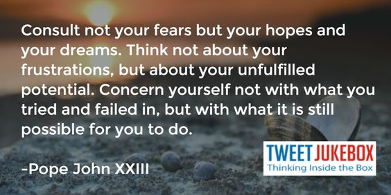 Pope John XXIII.- #quote #image http://tweetjukebox.com