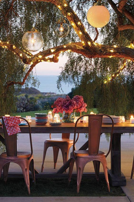 12 idee per illuminare il giardino d 39 estate arredo idee - Il giardino d estate ...