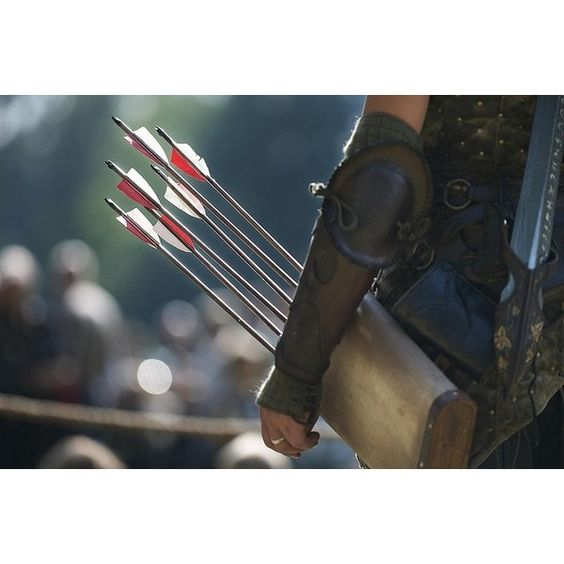 Elven Arrows ❤ liked on Polyvore featuring weapon