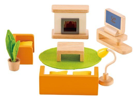 Amazon.com: Hape   Happy Family Doll House   Furniture   Media Room: Toys U0026  Games | Kids | Pinterest | Happy Family, Doll Houses And Toy