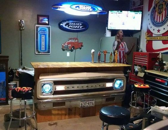 Chevy Man Cave Decor : Cars caves and chevy trucks on pinterest
