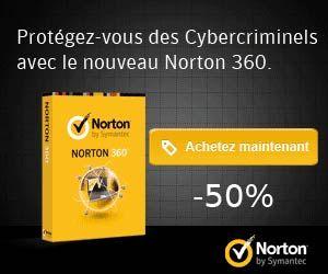 Suite de sécurité Norton 360 : -50% de réduction sur la version 1 an pour 3 PC ou appareils | Maxi Bons Plans