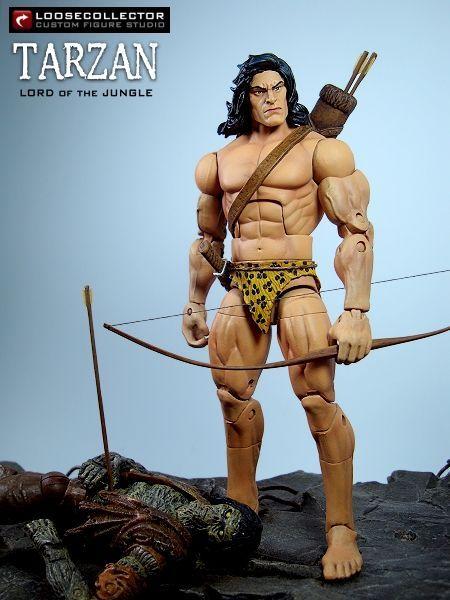 "Tarzan ""Lord of the Jungle"" (Independent Comics) Custom Action Figure"