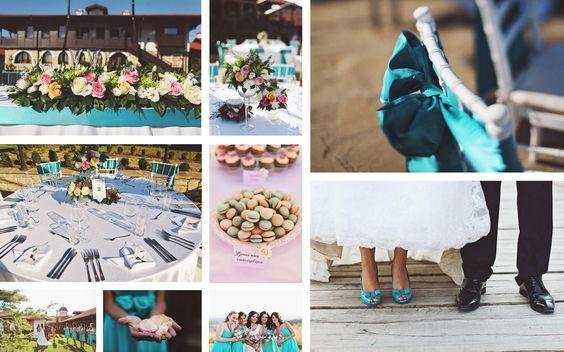 Wedding Theme: Turquoise Harmony