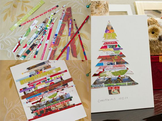 What to do with your Christmas cards after the holidays!