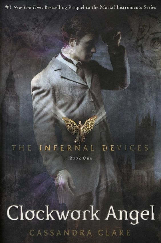 Image result for clockwork angel book cover