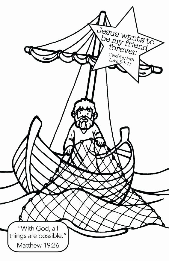 Fishers Of Men Coloring Page Inspirational Man Fishing Coloring Pages At Getcolorings Bible School Crafts Preschool Bible Activities Bible Crafts
