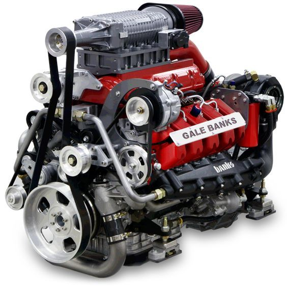 Banks Sequential Super Turbo Diesel Marine Engine With Images
