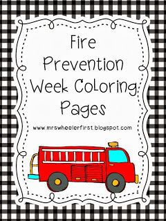 childrens fire safety coloring pages - photo#35