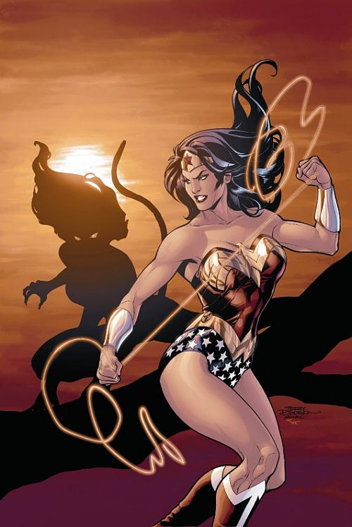 Wonder woman fucks cheetah