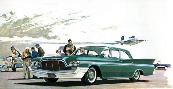 1960 De Soto Fireflite 4-door Sedan