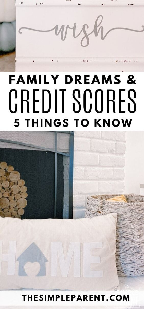 Don T Let Your Credit Score Stop You From Dreaming Big Dreams For Your Family Find Out What Parents Need To Credit Repair Credit Score Credit Repair Services