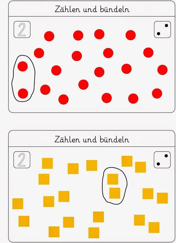 Lernstübchen: Bündeln - eine Kartei zum Fördern