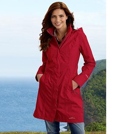 car length rain coat - WeatherEdge® Girl on the Go® Trench Coat by