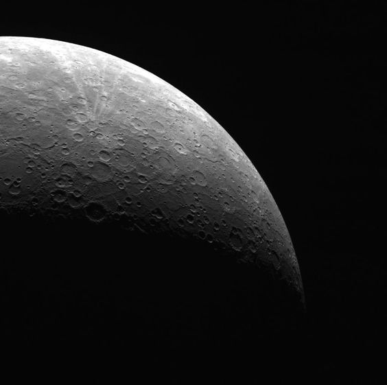 """""""Mercury, View from the South"""" by NASA #flickr #planet"""