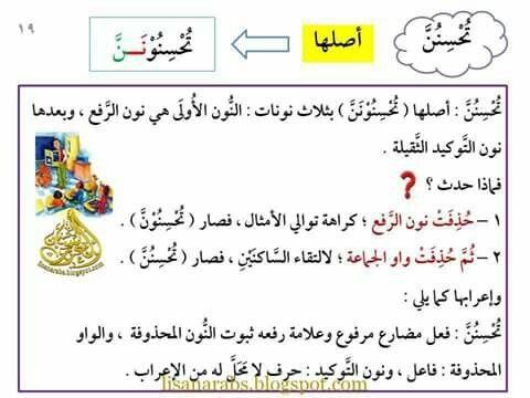 سلسلة أتعلم القواعد العربية 11 أنواع الكلمة الاسم والفعل والحرف بكل Mr