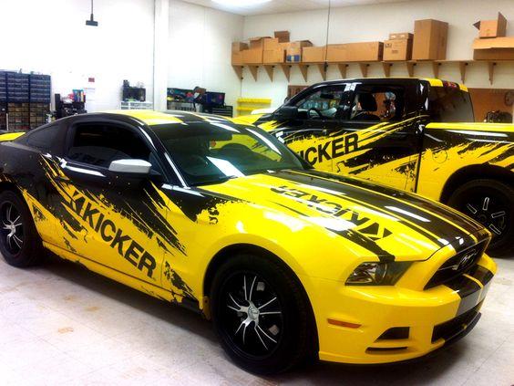 Stillwater Kicker Car Wraps Precision Sign amp Design