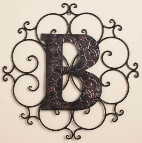 The Letter B Wall Hanging Plaque Initial Monogram Living Bedroom Home Decor Art Theletterbwallhanging Monogram Wall Hangings Monogram Wall Decor Monogram Wall