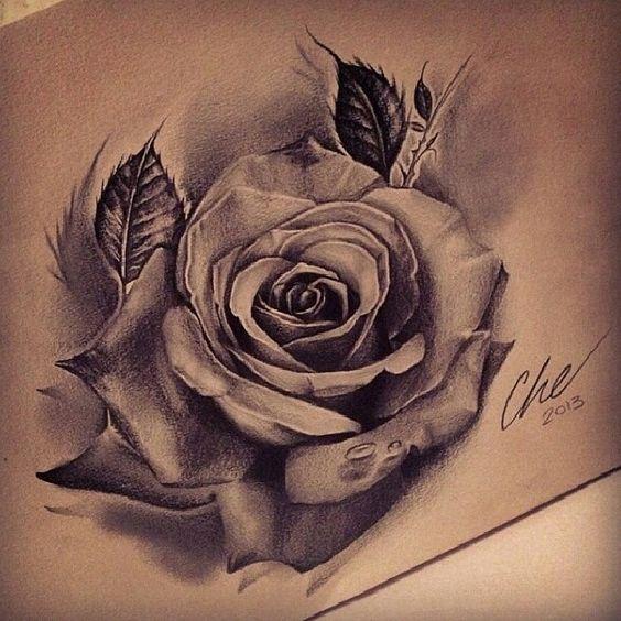 16 Best Rose Tattoos Designs For Men Piccolo Tatuaggio Rosa Tatuaggi Floreali Tatuaggi Rosa