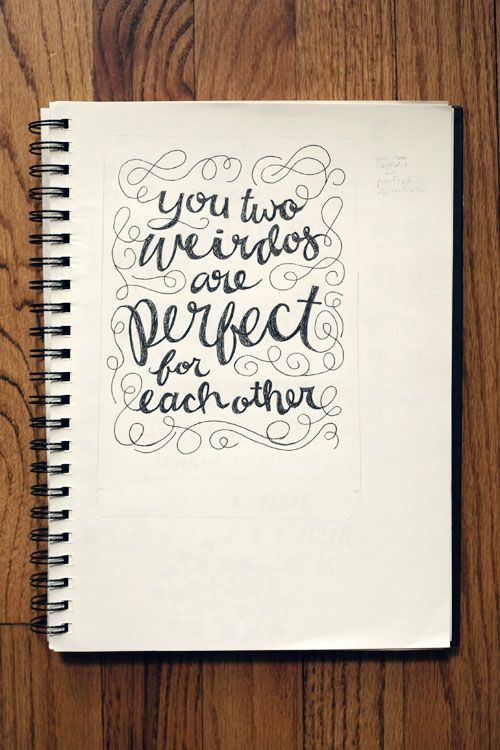 Cute quotes hand lettering and wedding cards on pinterest
