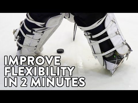 Hockey Goalies Try This Exercise To Improve Your Flexibility In Only Two Minutes Youtube With Images Hockey Goalie Hockey Goalie